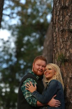 In the woods at Eden Park for their #Cincinnati #engagementsession! #weddingstyle