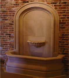 Cast Stone Wall Fountain