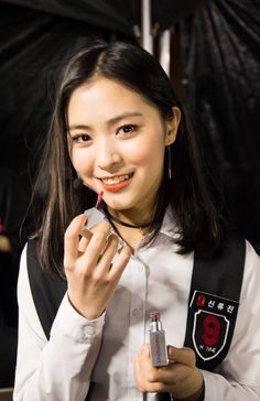Mixnine x Monoshot | Shin Rhujin | Shin Ryujin | MIXNINE final episode | #신류진 #믹스나인 #JYP South Korean Girls, Korean Girl Groups, Jyp Trainee, Lee Hi, Cosmic Girl, Cute Nicknames, Soyeon, Korean Singer, Daniel Wellington