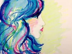 Sketchy #787: Katie Lynn by Erin Chainani