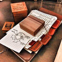 Chronodex stamp prototype! Super fine print, self-inking, minimum 3,000 times usage.
