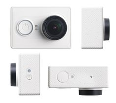 TECH GIFT GUIDE \\\ Xiaomi YI Action Camera \\\ $65 Wrapped inside the austere minimalist case is a Sony Exmor R BSI CMOS 16MP sensor capable of capturing 16 million pixels at 1080p and 60fps (recording to a microSD card). Those are some serious specs and hardware for a very modest price, an action camera so affordable, why not buy one for a friend and another one for yourself so you can record your travels in tandem?