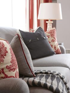 Color vs. Color Winner: Gray! Our favorite ways to use this color >> http://www.hgtv.com/design/decorating/color/colors-we-love-whisper-gray-pictures?soc=pinterest
