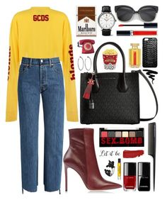 """60 sec. style"" by anabelisstyle ❤ liked on Polyvore featuring Vetements, Christian Dior, IWC Schaffhausen, Chanel, Boohoo, Jennifer Fisher, West Bend, GHD, L'Artisan Parfumeur and NYX"
