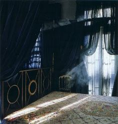 The way the light comes through the windoes looks great with the sheer, black curtains for those horror moments.