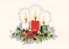 We always got lots of Christmas cards. I loved to look at all of them.