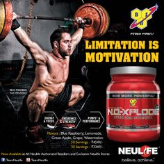 BSN NO Xplode Rich Froning, Product Ads, Gain Muscle, Lemonade, Strength, Motivation, Fitness, Gaining Muscle, Muscle Up