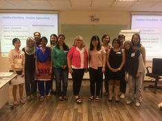 Congratulations to all participants from Hanen's first Target Word™ workshop in Malaysia at Cerebral Palsy Alliance Singapore led by Cindy Earle! Also a special thank you to our hosts - Sunitha and Tricia. Target Word is Hanen's workshop for SLPs working with children who are late talkers. This workshop helps you zero in on their unique needs and focuses specifically on building expressive vocabulary through responsive, child-centered interactions. First Target, Cerebral Palsy, Working With Children, Professional Development, Vocabulary, Singapore, Congratulations, Zero, Workshop