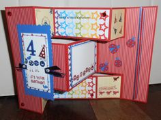 BaRb'n'ShEllcreations - Stampin' Up Bug Me - Birthday Card - made by Shell