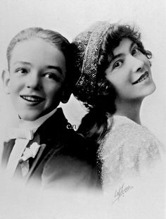 Fred Astaire and sister Adele