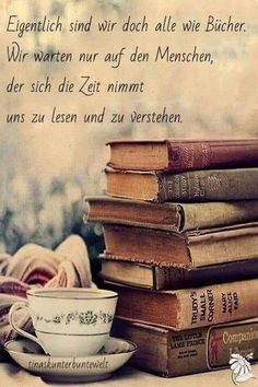 Love like books ♡ ☆☆☆ ♡ - German Quotes, Quotation Marks, Quotations, Qoutes, True Words, Travel Quotes, Book Quotes, Quotes Quotes, Be Yourself Quotes
