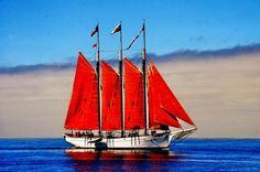 TALL SHIP IN SAN DIEGO BAY