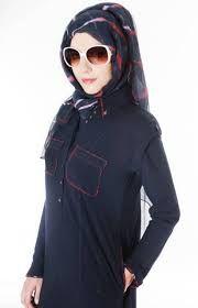 Elegant and stylish Abaya for Girls is now a fashion among girls Abaya Designs 2014 Abaya Designs Latest Dubai Bahrain. Abaya Designs Latest, Islamic Fashion, Islamic Clothing, Hijab Dress, Abaya Fashion, Dress Collection, Pakistan, Raincoat, Abayas