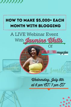 Do you have a blog but are struggling to make money with it? Join me in this FREE webinar where I show you how!