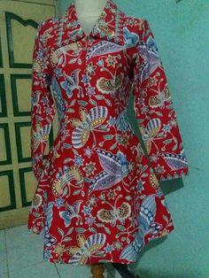 Mode Batik, Work Fashion, Women's Fashion, Ankara Dress, Dresses With Sleeves, Long Sleeve, Fashion Women, Sleeve Dresses
