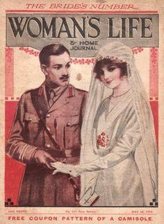 World War I brides fashion