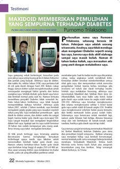 dieta maxidoide untuk para la diabetes