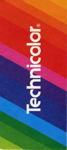 Technicolor envelope, 1972