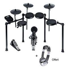 Pack Alesis dmnitro - Batería electrónica (incluye auriculares: Amazon.es: Instrumentos musicales Drum Kits, Can Opener, Drums, Headpieces, Music Instruments, Drum Sets, Drum, Drum Kit