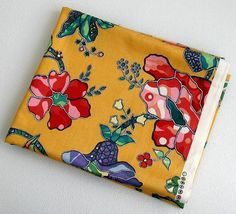 Interior Floral Fabric Home Decor Fabric by CraftSuppliesDesk