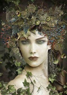 Autumn Dryad by Maxine Gadd