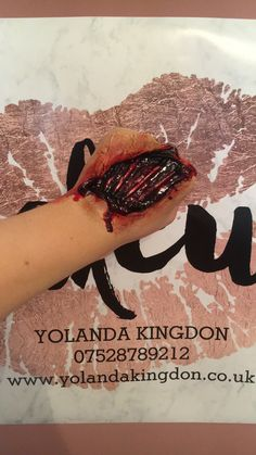 Special effects makeup by @yolandakingdon - Yolanda Kingdon - Halloween 2017 -
