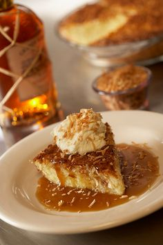 Bonefish Grill Coconut Pie With Rum Sauce What I like about this recipe is that there is very little sugar required and no crust.  Delicate flavor.