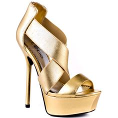 Bebe Shoes   Cleo - Gold
