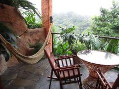 Costa Rica- Peace Lodge balcony