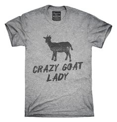 Crazy Goat Lady T-shirts, Hoodies,