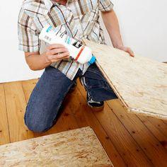 dachboden mit neu verlegten osb platten und d mmung der dachdeckerei ahlgrimm reichenberger. Black Bedroom Furniture Sets. Home Design Ideas