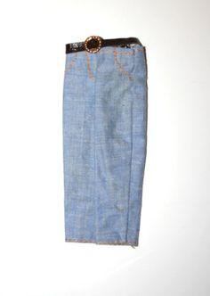 Vintage-1970s-Mego-BO-DUKE-Pants-for-8-Action-Figures-The-Dukes-Of-Hazzard