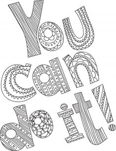 Have an Attitude of Gratitude | Coloring Pages for Older ...