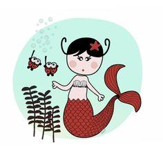 A new mermaid under the sea http://thesofisworld.com