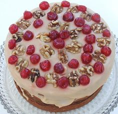 Cherry Nut Cake. This recipe is from my Twin's Blog... Cooking with K.  This is our mother's recipe. One of our many favorites.