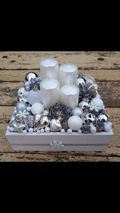 (notitle) The post (notitle) & Deko Weihnachten appeared first on Yorgo. Rose Gold Christmas Decorations, Christmas Advent Wreath, Ribbon On Christmas Tree, Christmas Candles, Christmas Centerpieces, Xmas Decorations, Christmas Diy, Home And Deco, Christmas Inspiration