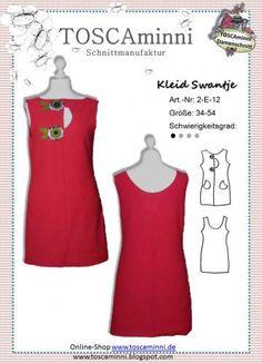 Freebook Kleid Gr. 34-54 - evtl. nur an Weihnachten kostenlos?!