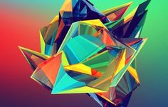 365-Day Geometric Illustration Challenge by Justin Maller