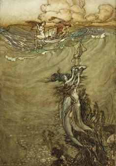 Great art from Art Authority: Jewels from the Deep by Rackham, Arthur