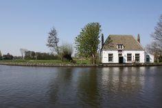 Het oude Veerhuis in Overschie. Nabij de splitsing van Drie Schieën.