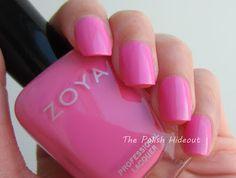 zoya 2012. shelby. perfect bubblegum pink.
