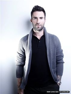 Adam Levine... grandpa sweater. LOVE  Google Image Result for http://images5.fanpop.com/image/photos/29300000/Today-Show-2012-adam-levine-29369211-385-512.jpg
