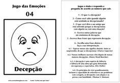 Carlota jogo das emoções 4 decepção Hans Christian, Emotional Intelligence, Psychology, Coaching, Homeschool, Stress, Books, Kids, Children