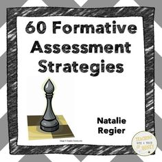 FREEBIE! Looking for strategies to formatively assess student learning? Check out the 60 strategies found in this booklet!