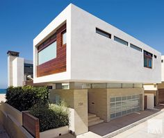 Hermosa Beach, Modern Architecture, Garage Doors, Multi Story Building, Stairs, Construction, Exterior, Contemporary, Mansions