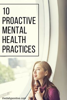 How can we be proactive about keeping our mental health…well…healthy? You are either struggling with your mental health right now or know somebody who is. It's a tough thing to face and also a tough thing to watch someone go through.