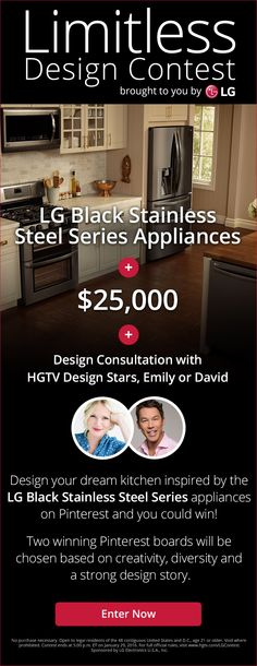 I am so inspired and in love with these appliances! & Imagine yourself cooking up a delicious storm in a contemporary chic kitchen complemented by LG's Black Stainless Steel Series! Beach Theme Kitchen, Kitchen Themes, Stainless Steel Appliances, Black Stainless Steel, Kitchen Appliances, Slate Appliances, Kitchen Appliance Packages, Smart Kitchen, Kitchen Pantry