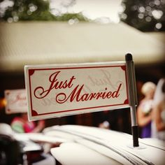 """""""Just Married"""" :: Photo by Nathania Springs Receptions :: Dandenong Ranges, Victoria, Australia"""