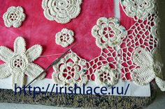 Beautiful Irish Lace tutorial