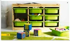 toy organizer from IKEA